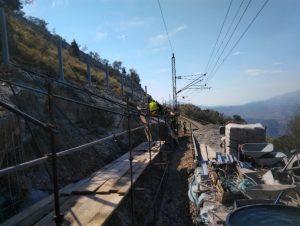 Rehabilitacija 6 kosina na željezničkoj pruzi Vrbnica-Bar u Crnoj Gori