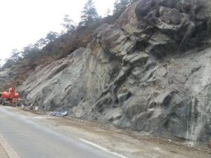 Osiguranje kosine na državnom putu Bistrica – Priboj